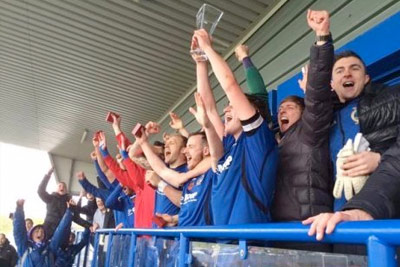 Curzon Ashton achieve Promotion P.P Group