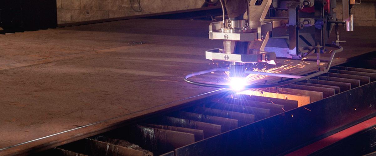HD Plasma machine cutting
