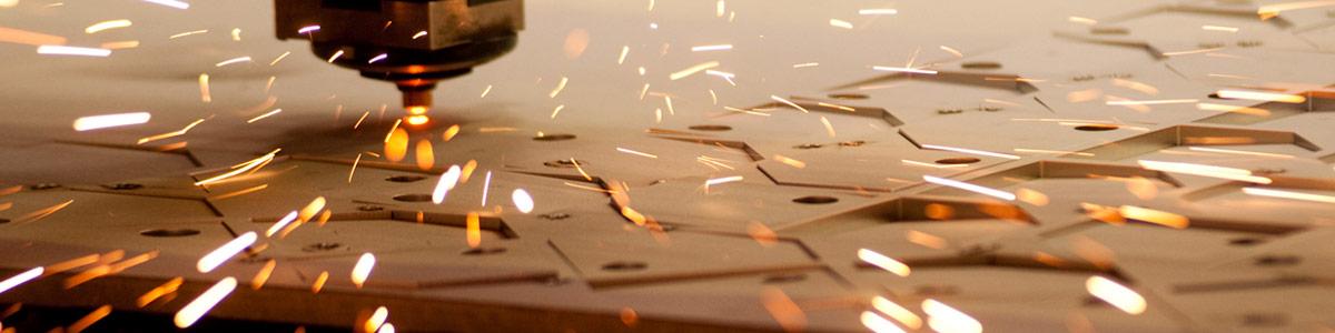 P.P. Plasmas high powered laser cutting machine