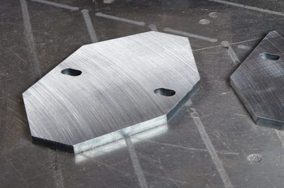A finished profile surface grinding